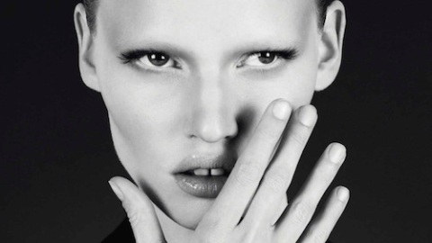 Calvin Klein Locks Down Lara Stone With New Campaign Exclusive | StyleCaster