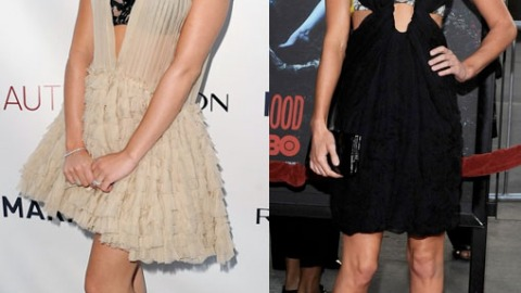 Style Standoff! Lea Michele v. Kate Bosworth In The Battle Of The Exposed Bras | StyleCaster