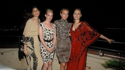 Elise Øverland BBQ Deck Party: Film, Fashion And Femme Fatales | StyleCaster