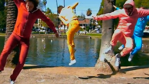 OK Go Launches New Music Video That Makes American Apparel Proud   StyleCaster