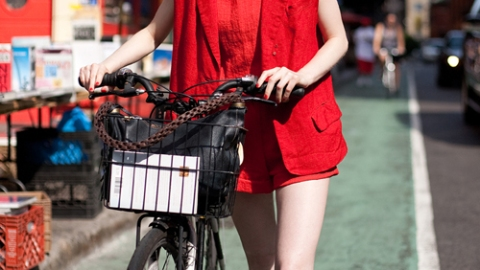 Street Style New York: Red Hot, By Mr. Newton | StyleCaster