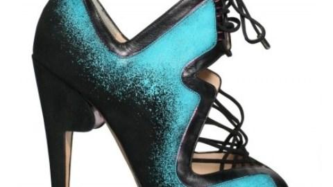 LUST LIST: Nicholas Kirkwood Sprayed Suede Lace-Up Pumps | StyleCaster