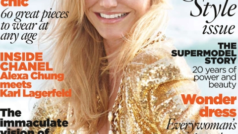 Get Cameron Diaz's Cover Girl Look! Celebrity Stylist Oribe Tells All | StyleCaster