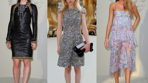 'Gossip Girl' Style Standoff! Leighton, Blake And Clemence Battle It Out In Chanel | StyleCaster