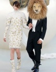 Chanel Haute Couture Roars Down The Runway: Frocks, Color And Statement Coats...
