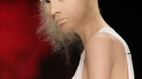 High Fashion Gets Hairy: Bearded Ladies Step Out At Berlin Fashion Week | StyleCaster