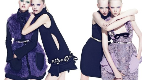 Miu Miu, YSL And Chloe Play It Cool For Fall 2010 Campaigns   StyleCaster