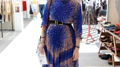 Street Style Berlin: Fashion Fair | StyleCaster