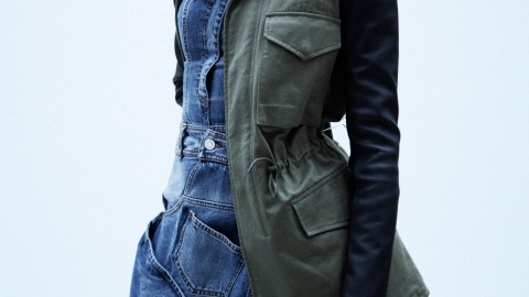 1 Piece, 5 Ways: VEDA Military-Inspired Jacket | StyleCaster