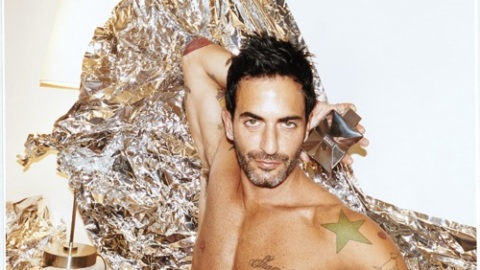 Marc Jacobs Strips Down For His New Scent 'Bang' While Showing Off Some Wacky Tatts   StyleCaster