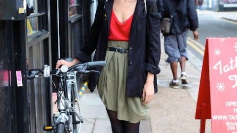 Street Style London: Layers, Rain or Shine | StyleCaster