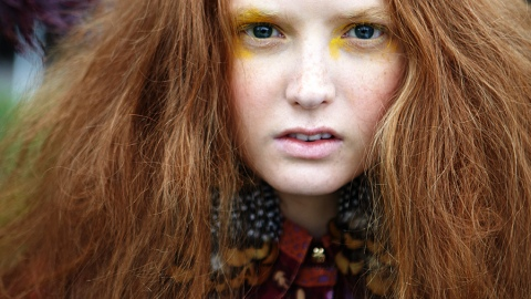 Behind-The-Scenes Beauty: Fall's Big Hair And Bolder Makeup | StyleCaster