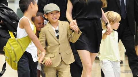 Are Angelina Jolie's Kids Confused? Victoria's Secret Gets In On More Male Fantasies | StyleCaster