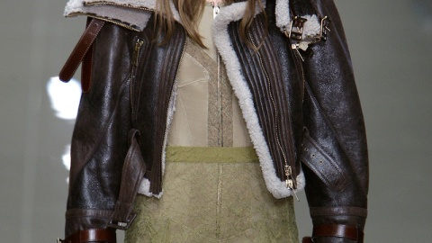 Luxe Fall Trend Alert – Cozy Up In Shearling | StyleCaster
