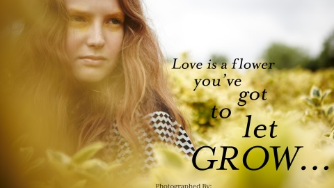 STYLECASTER FASHION EXCLUSIVE – Love Is A Flower You've Got To Let Grow | StyleCaster