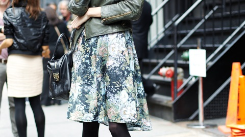 New York Fashion Week Spring 2011: Street Style | StyleCaster
