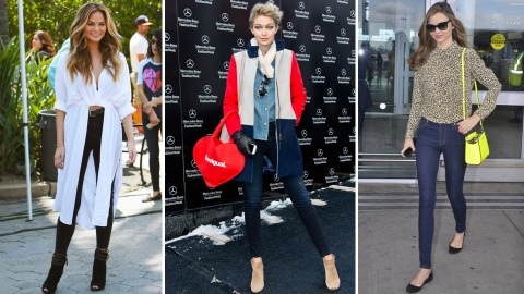 11 Celebrity-Inspired Ways to Style Your Jeans Now | StyleCaster