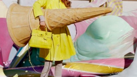 Lindsey Wixson Has The Power To Melt Giant Ice Cream Cones In New Mulberry Fashion Film   StyleCaster