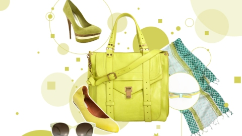 Explore A Whole New Hue For Spring (Granny Smith Green) | StyleCaster