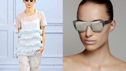 Cool Collabo Alert: Check Out The Richard Nicoll x ksubi Summer 2012 Eyewear Collection   StyleCaster