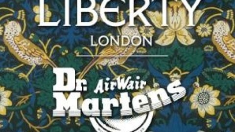 Floral Fans Unite: Dr. Martens Is Getting The Liberty London Treatment This Spring! | StyleCaster