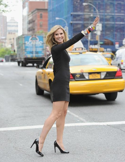 heidiiiii1 Heidi Klum On Managing Life, Multi Tasking & Finding Closed Toe Shoes For the Met Ball