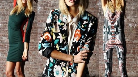 Jessica Hart And Pencey Standard Collaborate For Fall 2012   StyleCaster