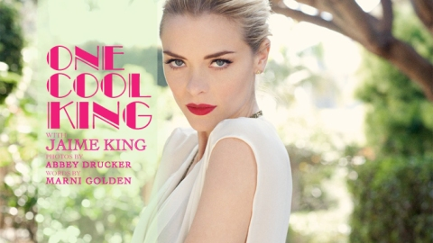One Cool King: An Editorial Starring Jaime King | StyleCaster