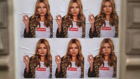 Can You Spot The Difference? Street Artist Kidult Makes His Mark With Kate Moss Ad | StyleCaster