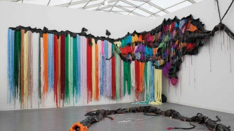 11 Must-See Pieces From The 2012 Frieze Art Fair New York | StyleCaster