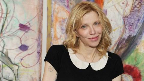 The Courtney Love Art Exhibit: Birkins, One-Night Stands, Gwyneth Paltrow And A Bath Tub | StyleCaster