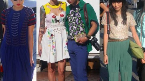 Sydney Street Style: Snaps From Mercedes-Benz Fashion Week Australia | StyleCaster