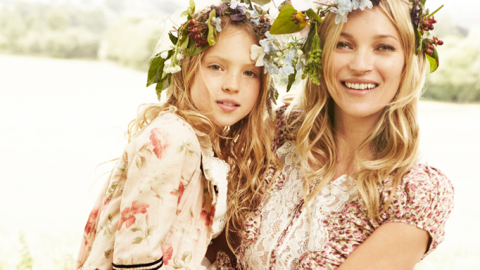 """Kate Moss' Daughter Could Be the Next Supermodel, Nicknamed """"Mini Moss"""" 