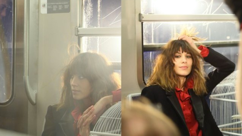 Oh La La! Alexa Chung is the New Face of French Label Maje   StyleCaster