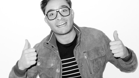 Ed Westwick, Terry Richardson and a Mirrored Ceiling: Go BTS of the New Philipp Plein Campaign | StyleCaster