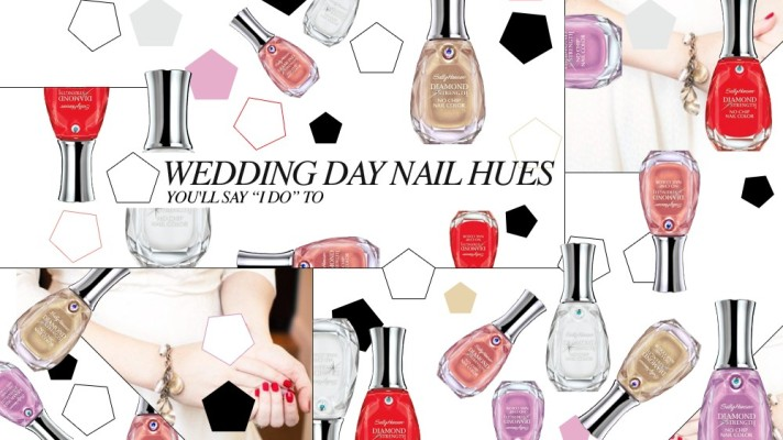 9 Amazing Nail Colors for Wedding Day Manicures