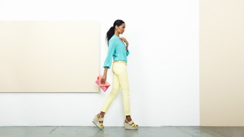 Gilt Editor's Perfect Outfit: Bright and Bold | StyleCaster