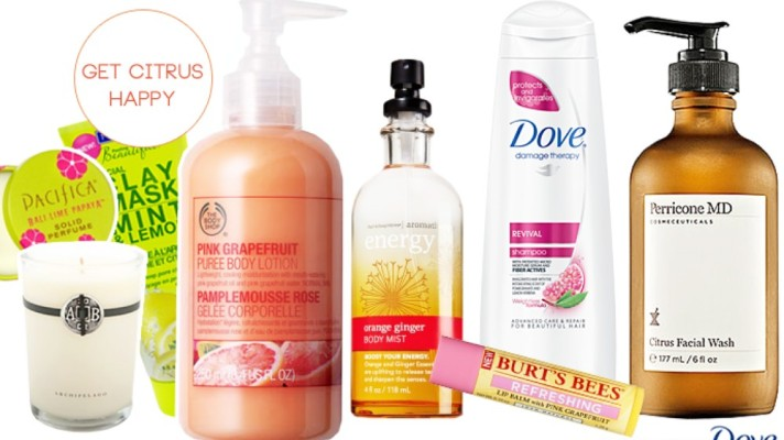 Get Citrus Happy With These Freshly-Scented Summer Products