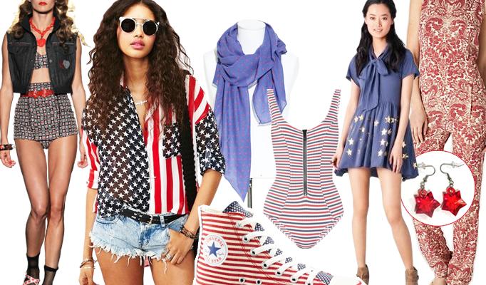 Flag-Waving Fashion: Fourth of July Shopping Picks