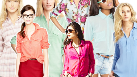 Button Up or Down: 30 Shirts to Add to Your Wardrobe Now | StyleCaster