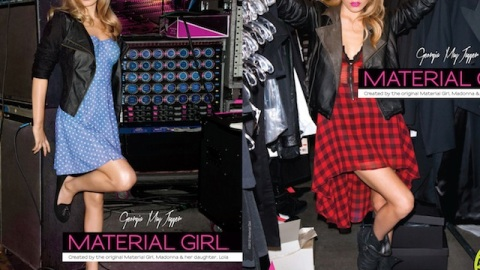 First Look: Georgia May Jagger's All-Access Campaign For Material Girl | StyleCaster