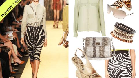 Runway to Real Way: Michael Kors' Swingin' Safari | StyleCaster