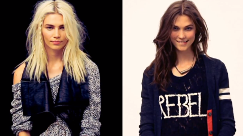 Karlie Kloss and Aline Weber Star in Free People's July Catalog Video | StyleCaster