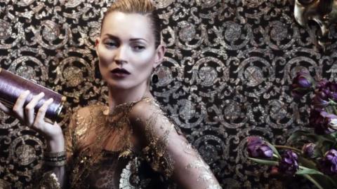 Kate Moss Stars in Ferragamo's Smoldering Fall 2012 Fashion Film | StyleCaster