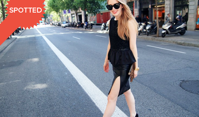Spotted: Peplum Takes Over Style Blogs and The Runway