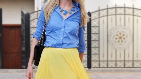 Community Trend Spotting: Summertime Pleated Skirt | StyleCaster