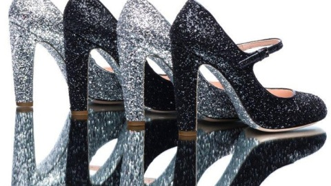 Shoes, Glorious Shoes! Behold, Miu Miu's New Glitter Styles for Fall | StyleCaster