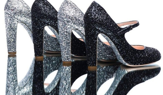 Shoes, Glorious Shoes! Behold, Miu Miu's New Glitter Styles for Fall