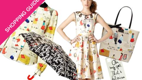 Shop Now: Style Blogger Garance Doré Creates Capsule Collection For Kate Spade | StyleCaster