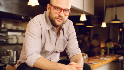 Hangover Cure: Daniel Holzman of The Meatball Shop's Involves Pickles and Hot Dogs | StyleCaster